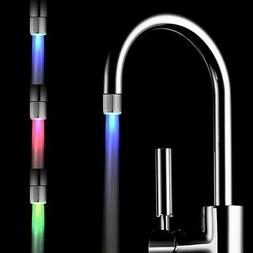 Colorful Home Bathroom LED Shower Head 7 Color Auto Changing