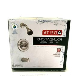 Delta Foundations Single-Handle 1-Spray Tub and Shower Fauce