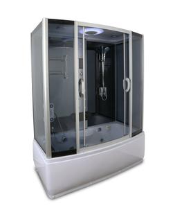 1001NOW Steam Shower Enclosure Spa Whirlpool with Rainfall S