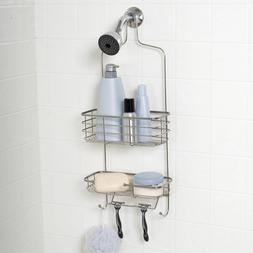 Zenna Home 7704ST Over-The-Showerhead Caddy, Stainless Steel
